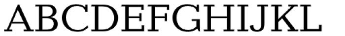 Candida EF Font UPPERCASE