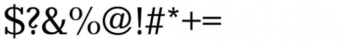 Candida Regular Font OTHER CHARS