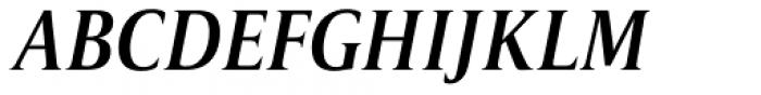 Candide Condensed Medium Italic Font UPPERCASE