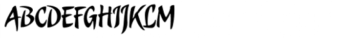 Candombe Pro Font UPPERCASE