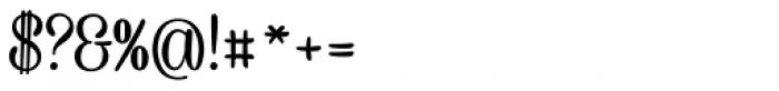 Caneletter Script Font OTHER CHARS