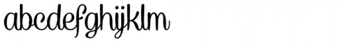 Caneletter Script Font LOWERCASE