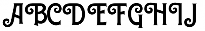 Caniste Semi Bold Font UPPERCASE