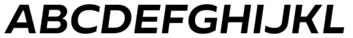Cannon Bold Italic Font UPPERCASE
