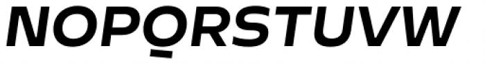 Cannon SC Bold Italic Font UPPERCASE