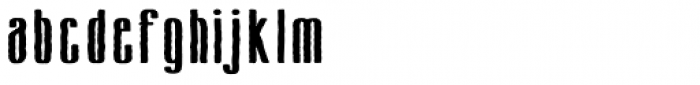 Cansum Hand Bold Font LOWERCASE