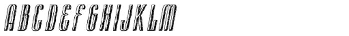 Cansum Hand Half Bold Italic Font UPPERCASE