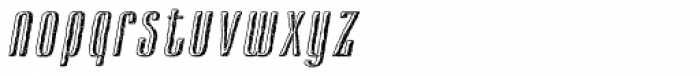 Cansum Hand Half Bold Italic Font LOWERCASE