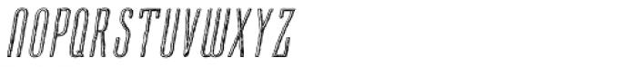 Cansum Hand Half Light Italic Font UPPERCASE