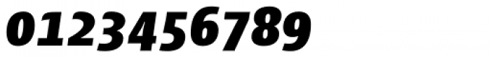 Cantiga Black Italic Font OTHER CHARS
