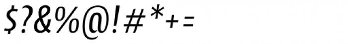 Cantiga Cnd Italic Font OTHER CHARS