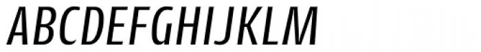 Cantiga Cnd Italic Font UPPERCASE