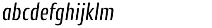 Cantiga Cnd Italic Font LOWERCASE