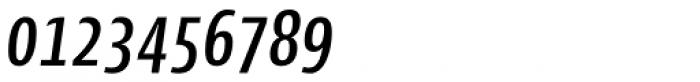 Cantiga Cnd Medium Italic Font OTHER CHARS