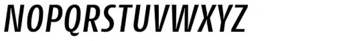 Cantiga Cnd Medium Italic Font UPPERCASE