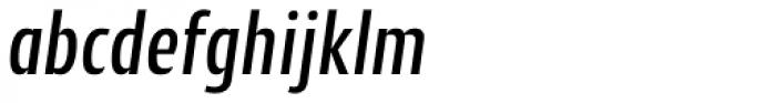 Cantiga Cnd Medium Italic Font LOWERCASE