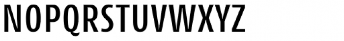 Cantiga Cnd Medium Font UPPERCASE