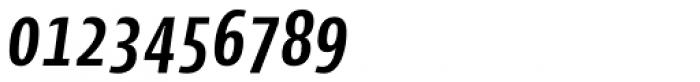 Cantiga Cnd Semi Bold Italic Font OTHER CHARS