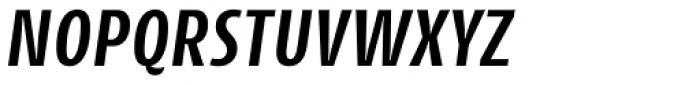 Cantiga Cnd Semi Bold Italic Font UPPERCASE
