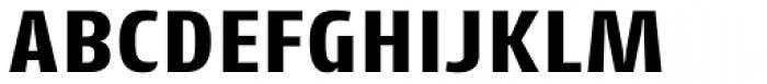 Cantiga Extra Bold Font UPPERCASE
