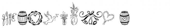 Cantoni Ornaments Font OTHER CHARS