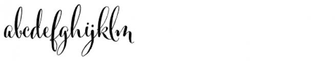 Cantoni Pro Bold Font LOWERCASE