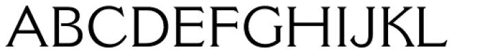 Cantoria Pro Roman Font UPPERCASE