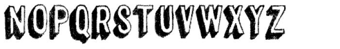 Canvas 3D Sans Shadow Font UPPERCASE