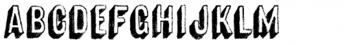 Canvas 3D Sans Shadow Font LOWERCASE
