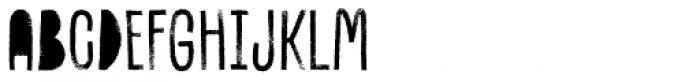 Canvas Inline Regular Fill Font UPPERCASE