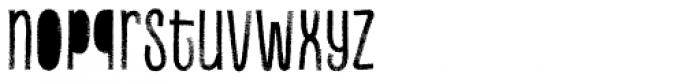 Canvas Inline Regular Fill Font LOWERCASE