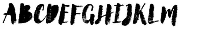 Canvas Script Heavy Fill Font UPPERCASE