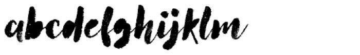 Canvas Script Heavy Fill Font LOWERCASE