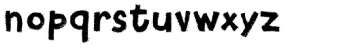 Canvas Text Sans Font LOWERCASE