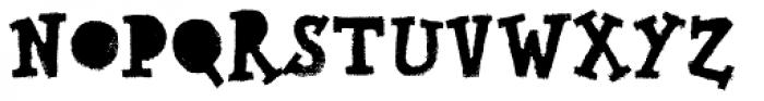Canvas Text Serif Fill Font UPPERCASE