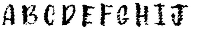 Canvas Tiny Brush Font LOWERCASE
