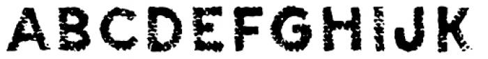 Canvas Tiny Sans Font LOWERCASE