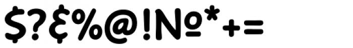 Caper Comic Bold Font OTHER CHARS