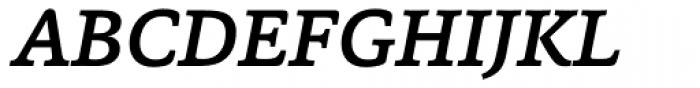 Capita Medium Italic Font UPPERCASE