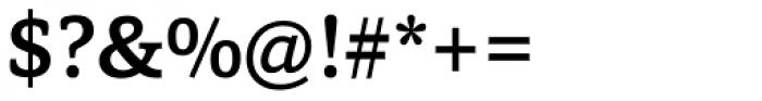 Capita Medium Font OTHER CHARS