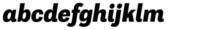 Capital Gothic Extra Bold Italic Font LOWERCASE