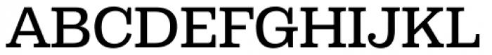 Capital Serif Medium Font UPPERCASE