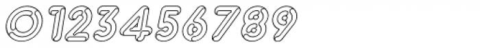 Capitalus Diabolus 1 Italic Font OTHER CHARS