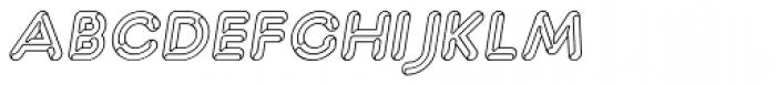 Capitalus Diabolus 1 Italic Font LOWERCASE
