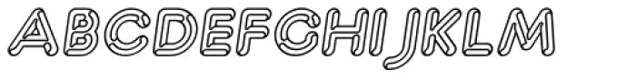 Capitalus Diabolus 3 Italic Font UPPERCASE