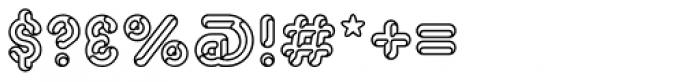 Capitalus Diabolus 3 Font OTHER CHARS