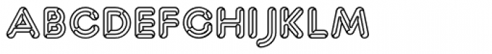 Capitalus Diabolus 3 Font LOWERCASE