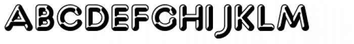 Capitalus Diabolus 4 Font UPPERCASE