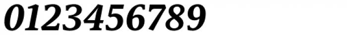 Capitolina Bold Italic Font OTHER CHARS