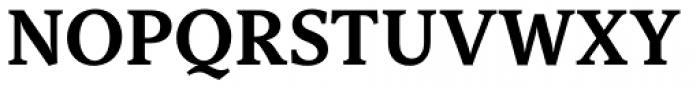 Capitolina Bold Font UPPERCASE